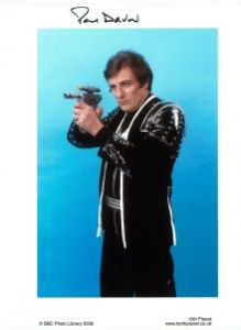 "Paul Darrow ""Kerr Avon"" (Blake's 7) #3  -  10 x 8 genuine signed autograph"